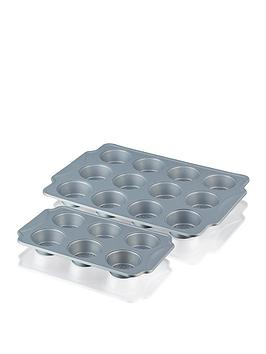 swan-6-and-12-cup-muffin-tray-set