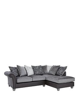 kenya-fabric-and-faux-leather-right-hand-corner-chaise-sofa