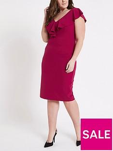 ri-plus-waisted-midi-dress--pink