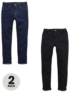 v-by-very-v-by-very2-pack-slim-fit-jeans-rinse-wash-and-black