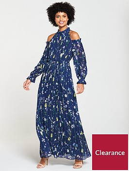 v-by-very-cold-shoulder-maxi-dress-printed