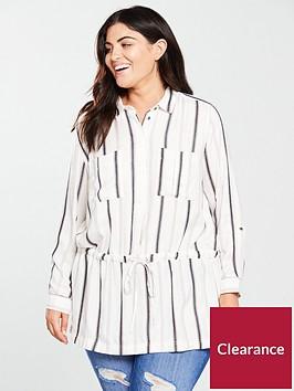 v-by-very-curve-longline-shirt-stripe
