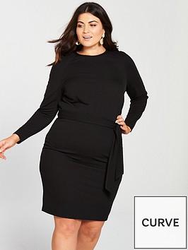 v-by-very-curve-jersey-crepe-pencil-dress-black