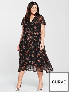 v-by-very-curve-tie-waist-midi-dress