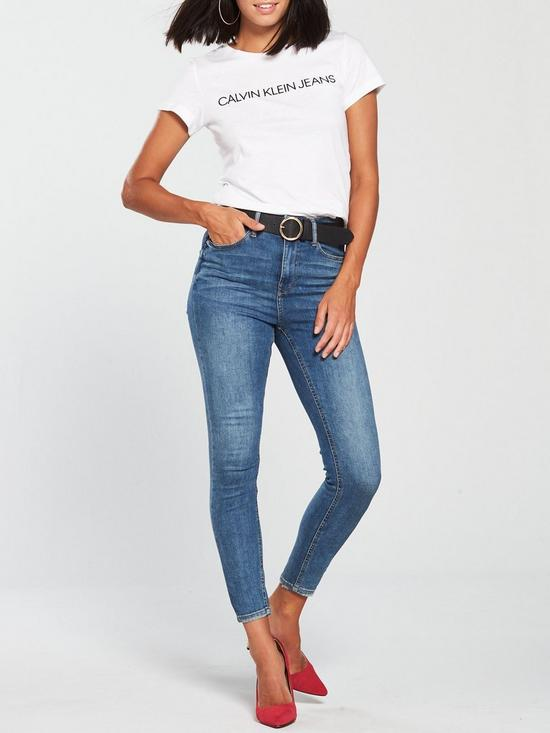 697115acb6 ... Calvin Klein Jeans Institutional Logo Slim Fit T-shirt - Bright White.  Purchased 8 times in the last 48 hrs.
