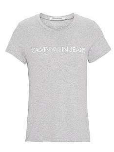 calvin-klein-jeans-institutional-logo-slim-fit-t-shirt-light-heather-grey