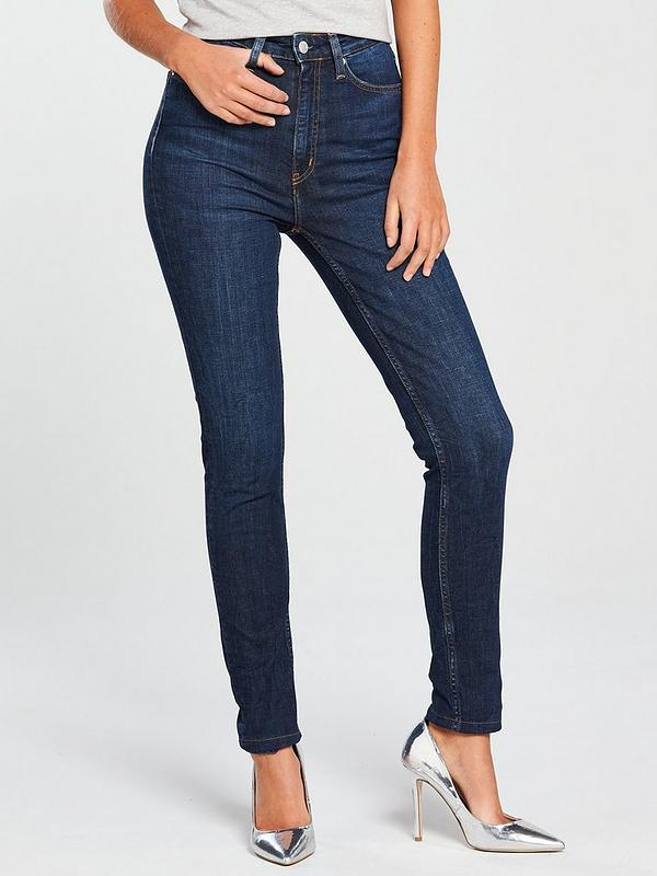 100% top quality super specials hot-seeling original High Rise Skinny Jean - Amsterdam Dark Blue