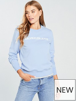 calvin-klein-jeans-institutional-crew-neck-chambray-blue