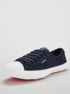 2c8ee2c0f4e4 Superdry Low Pro Sneaker Plimsoll