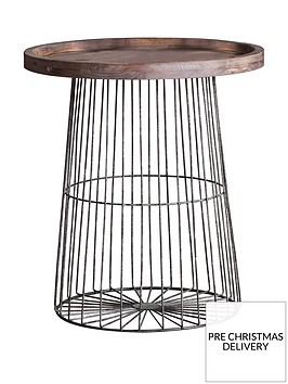 hudson-living-menzies-metal-and-solid-wood-side-table