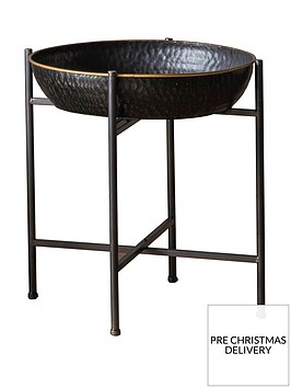 hudson-living-wesley-metal-side-table