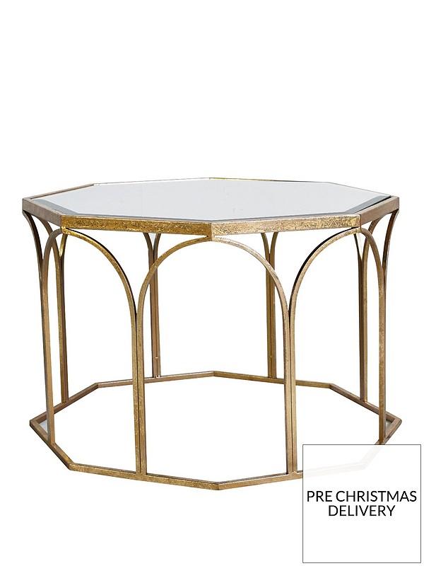 Tremendous Canterbury Mirrored Glass Canterbury Coffee Table Dailytribune Chair Design For Home Dailytribuneorg