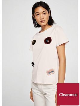 mango-bichinbsp-bejewelled-jersey-top-pink
