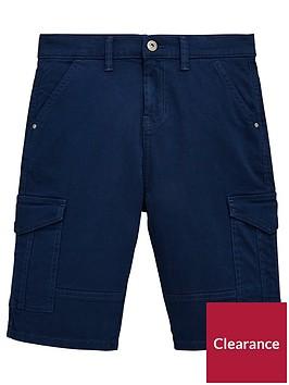 v-by-very-boys-cargo-utility-shorts-navy