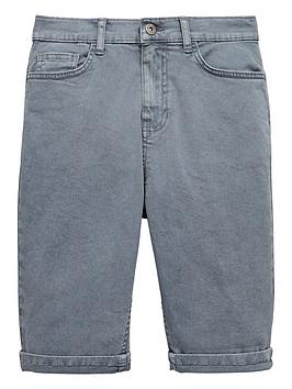 v-by-very-grey-garment-dye-shorts