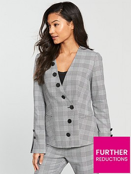 v-by-very-check-button-detail-jacket