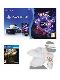 playstation-vr-starter-pack-with-resident-evil-7-biohazardnbspand-optional-move-controller