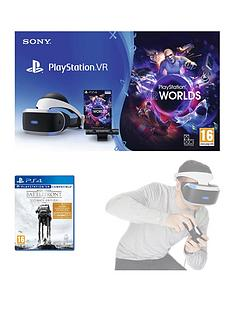 playstation-vr-starter-pack-with-star-wars-battlefront-ultimate-edition-and-optional-move-motion-controller