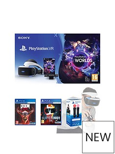 playstation-vr-starter-pack-with-doom-vfr-and-superhot-and-move-motion-controller