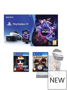 playstation-vr-playstation-vr-starter-pack-with-bravo-team-and-superhot-and-move-motion-controller
