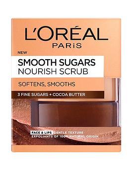 loreal-paris-l039oreal-paris-smooth-sugar-nourish-cocoa-face-and-lip-scrub-50ml