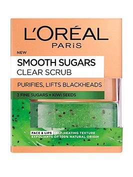 loreal-paris-l039oreal-paris-smooth-sugar-clear-kiwi-face-and-lip-scrub-50ml