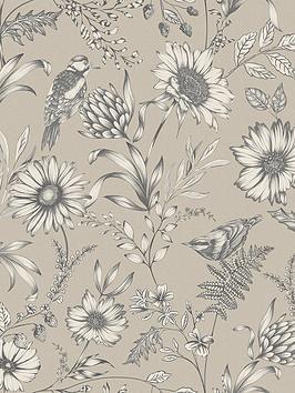 arthouse-botanical-songbird-wallpaper--nbspnatural
