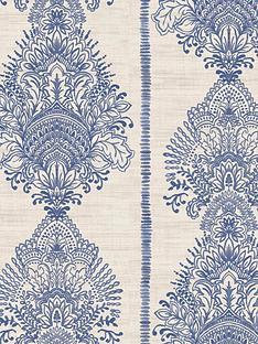 arthouse-silk-road-indigo-wallpaper