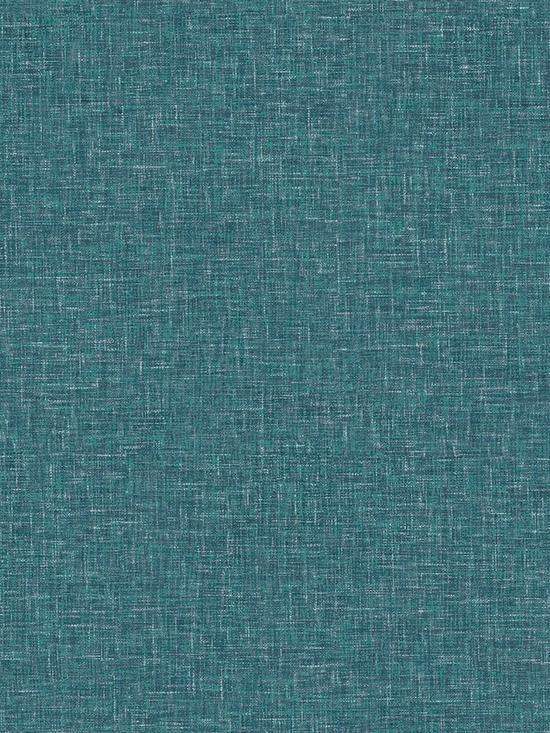 ARTHOUSE Linen Texture Teal Wallpaper