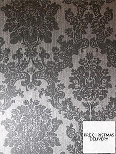 arthouse-foil-damask-silver-wallpaper