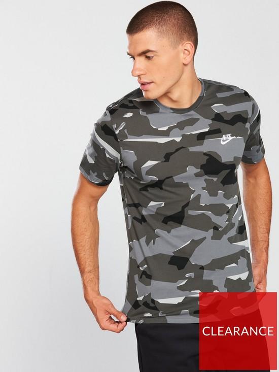 3932fbd2b5b3 Nike Sportswear Camo Pack T-Shirt