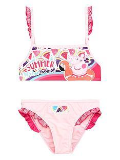 peppa-pig-glitter-frill-water-melon-bikini-set