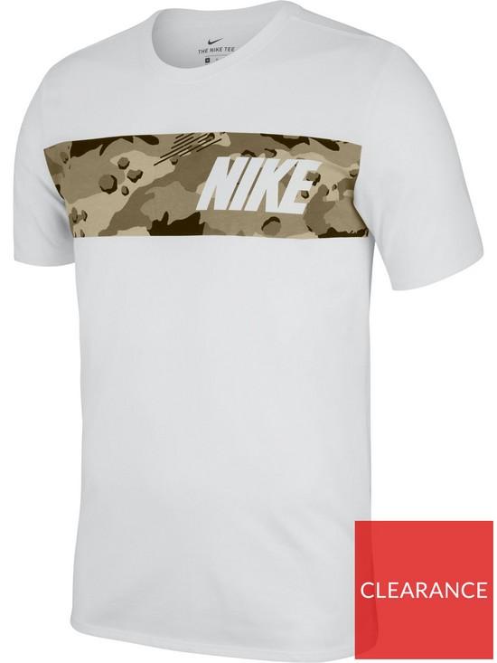 0dd839ac9196 Nike Training Dri-Fit Camo T-Shirt