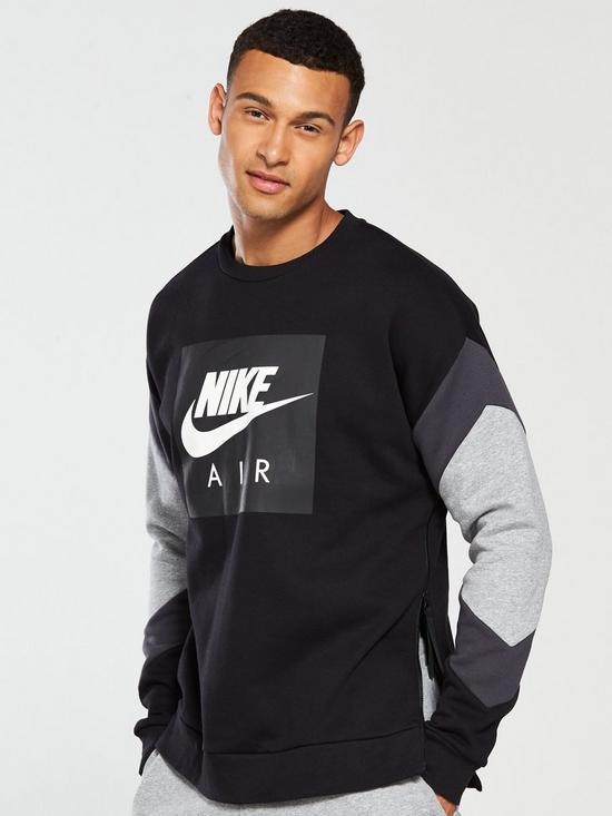 649467fb2c Nike Sportswear Fleece Air Crew Neck Sweat