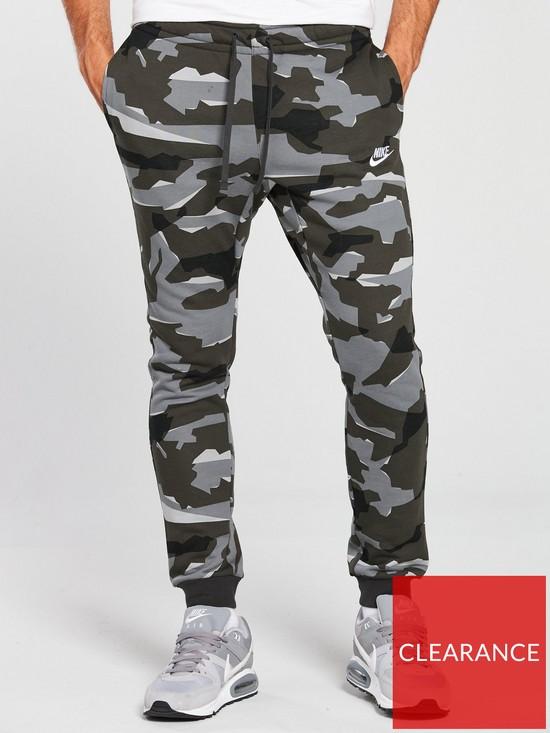 a207741b36b76f Nike Sportswear Camo Club Jogging Pants | very.co.uk