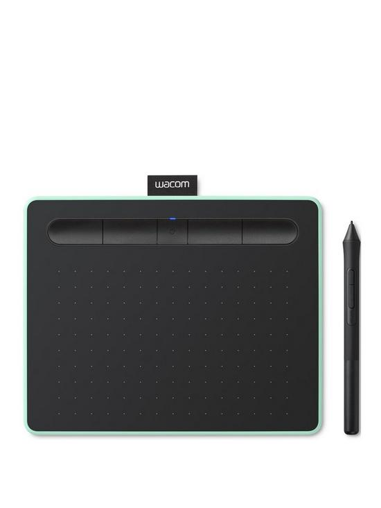 Intuos Pen Tablet in Pistachio (Small)  Included Wacom Intuos Stylus   Bluetooth connectivity  Compatible with Windows and Apple