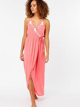 accessorize-lily-embroidered-wrap-maxi-dress-coralnbsp