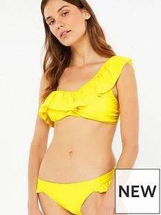 accessorize-frill-bikini-brief-yellow