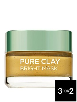 loreal-paris-pure-clay-bright-face-mask