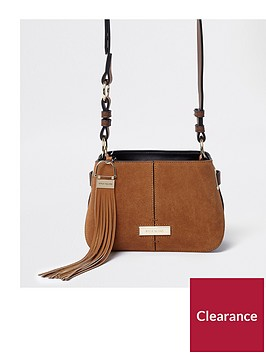 river-island-mini-suede-crossbody--tan