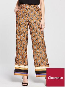 river-island-river-island-wide-leg-soft-trousers--orange-print