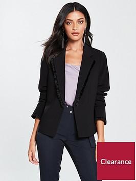 v-by-very-fringe-jacket-black