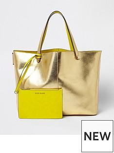 river-island-beach-bag--gold