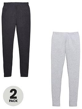 v-by-very-girls-2-pack-charcoal-amp-grey-leggings