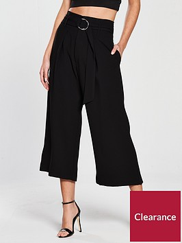 river-island-river-island-wide-leg-crop-trousers--black