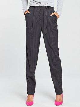 v-by-very-fly-front-slim-leg-trouser-grey