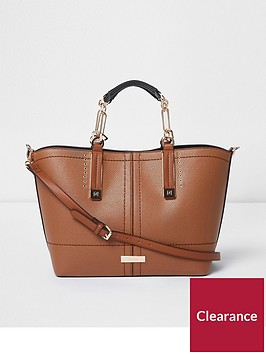 river-island-large-winged-tote--beige