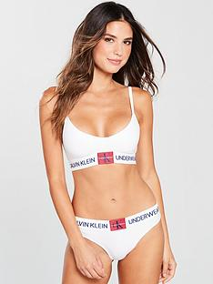 calvin-klein-unlined-triangle-bra-white