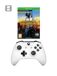 xbox-one-playerunknowns-battlegrounds-and-white-controller