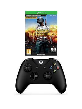 xbox-one-playerunknowns-battlegrounds-and-black-controller